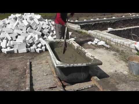 Как приготовить цементный раствор - видео