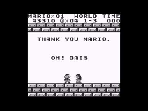 Super Mario Land - Greatest Video Game Moment - Super Mario Land - Daisy, you okay? - User video