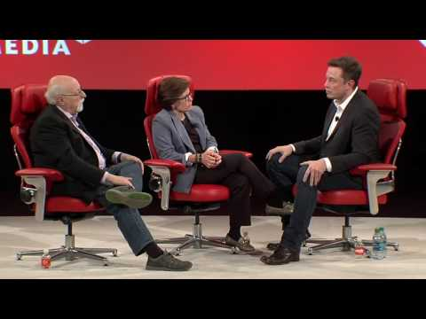 Artificial Intelligence | Elon Musk, SpaceX and Tesla | Code Conference 2016