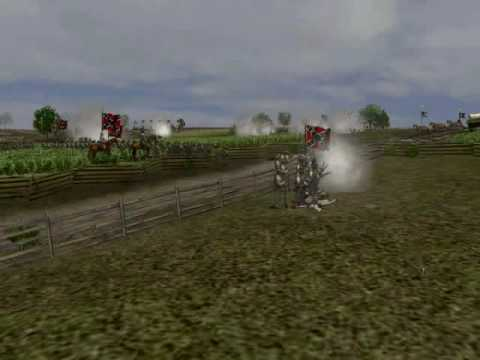 Scourge of War Gettysburg September 2009 Gameplay