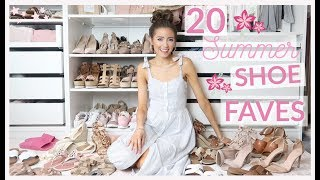 TOP 20 BEST SUMMER SHOES 2019 | SUMMER SHOE COLLECTION + TRY ON
