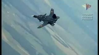 Su-47 vs F-22 Raptor