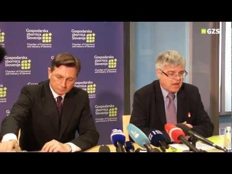 Predsednik Republike Slovenije Borut Pahor na GZS