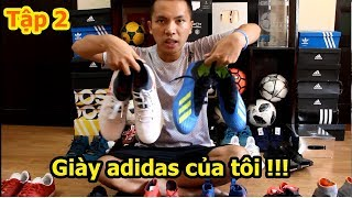 Thử Thách Bóng Đá thăm nhà Đỗ Kim Phúc xem tủ giày với các đôi của U23 Việt Nam