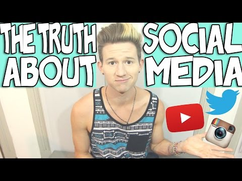 THE TRUTH ABOUT SOCIAL MEDIA | RICKY DILLON