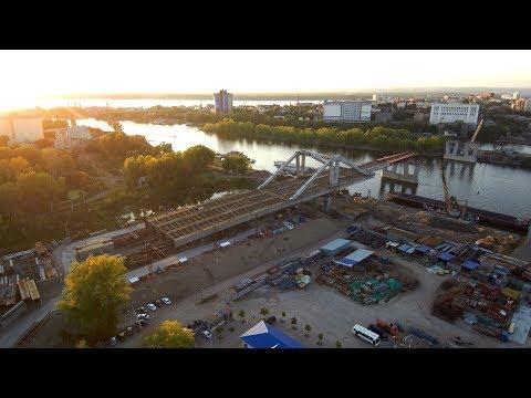 Фрунзенский мост (Самара) 4к 16.09.2017