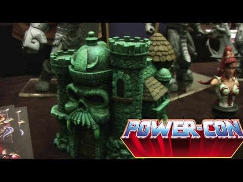 Power-Con 2012: Icon Heroes Castle Grayskull Statue