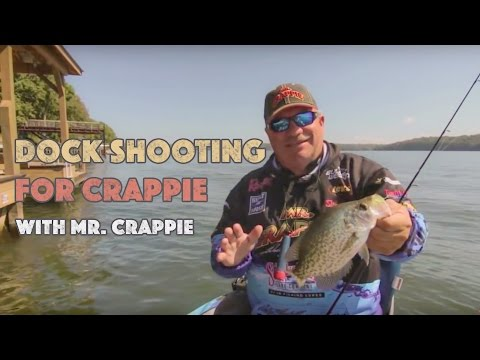 How to Shoot Docks to Catch LOTS of CRAPPIE