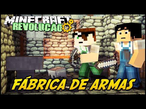 Minecraft: A REVOLUÇÃO - FÁBRICA DE ARMAS! #38