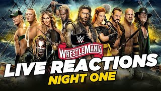 WWE WrestleMania 36: Live Reactions Night One
