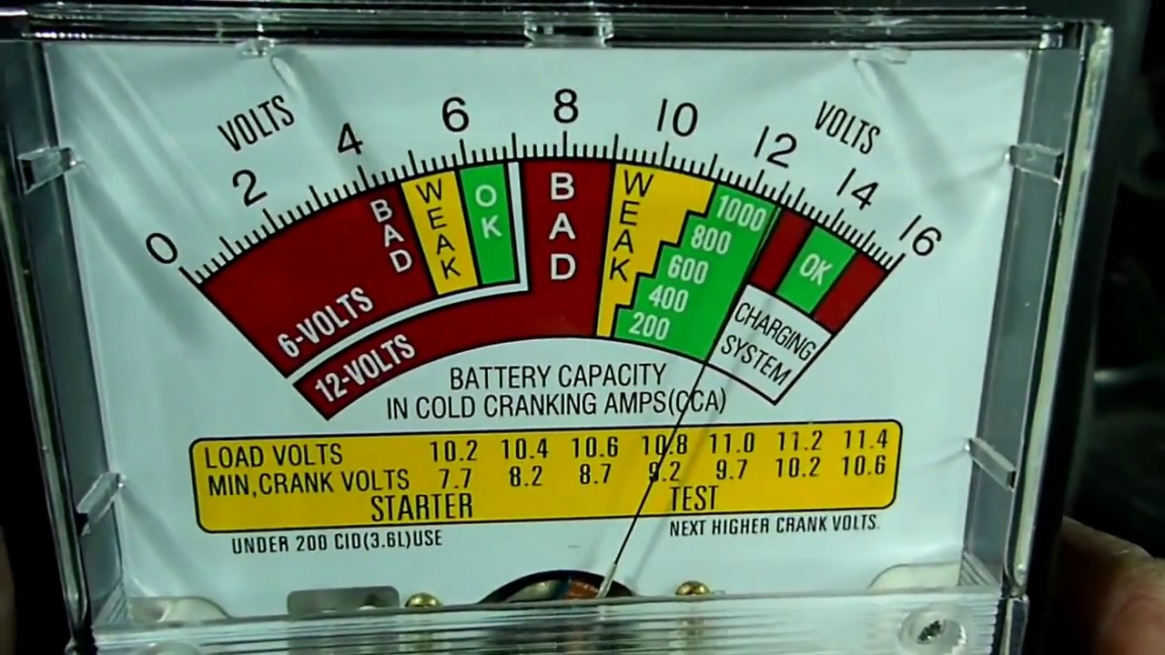 Standard Automotive Battery Load Tester : Schumacher bt battery load tester youtube