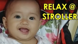 Vlog #12 - Baby Alianna Rose in IRDY Stroller Red bought in Lazada