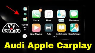 Audi A4 Adding Apply Carplay Android Auto backup camera USB multimedia