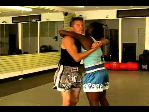 Muay Thai Clinch Techniques   Muay Thai Clinch  Fighting With an Underhook mma videos mma videos Image 1