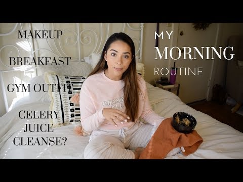 My Morning Routine! - Makeup, breakfast & More!