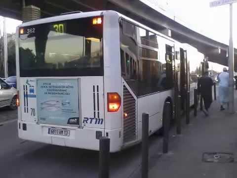 [Sound] Bus Mercedes-Benz Citaro n°362 de la RTM - Marseille sur la ligne 30