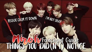 Download Song THINGS YOU DID(N'T) NOTICE in MIROH Fanchant Guide / Stray Kids Free StafaMp3