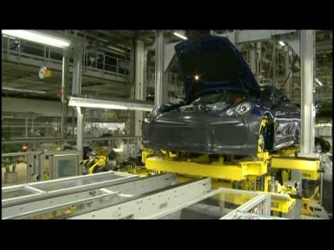 2010 Porsche Panamera on the Production Line