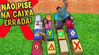 NÃO PISE NA CAIXA ERRADA 2! - KIDS FUN