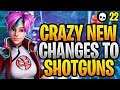 CRAZY New Changes To Shotguns In Fortnite! (Fortnite Update 9.40   New Tac Shotgun)