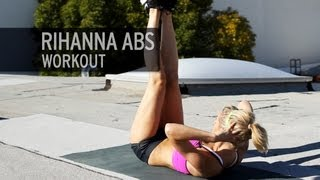 Rihanna Abs Workout