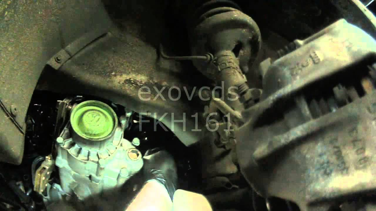 VW A3: Removing 020 Transmission / Clutch (Part 3) - YouTube