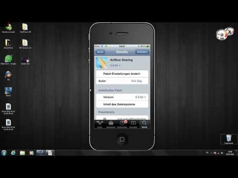 Mit dem iPhone.iPad oder iPod Touch Daten über Bluetooth senden und empfangen
