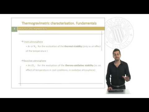 TGA Fundamentals |  | UPV thumbnail