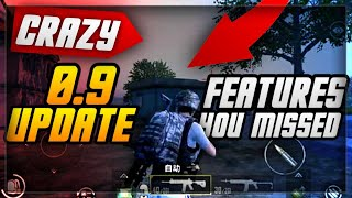 PUBG MOBILE 0.9.0 HIDDEN UPDATE FEATURES YOU MISSED! FREE ITEMS, NIGHT MODE SECRETS & NEW QBU WEAPON