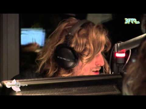Andy Burrows over koken en Pinkpop live @ 3voor12 Radio