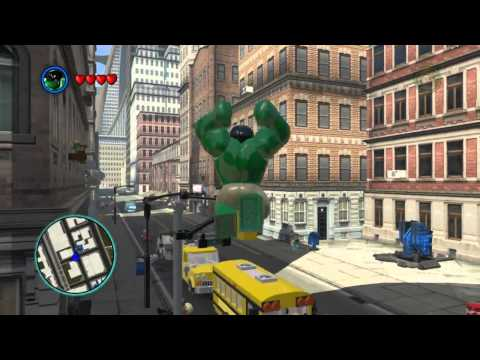 Lego Marvel Super Heroes The Video Game - Hulk Free Roam video