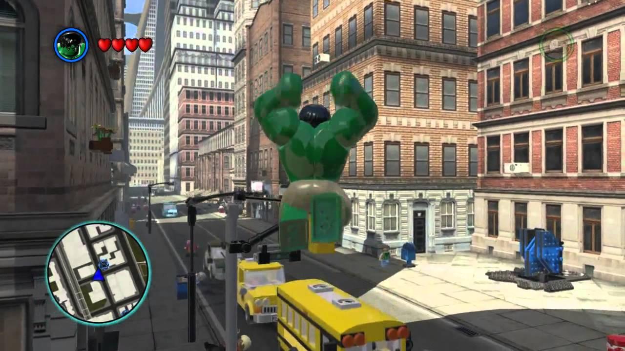 lego hulk games online free play