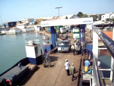 Ferry van Banjul naar Barra, The Gambia