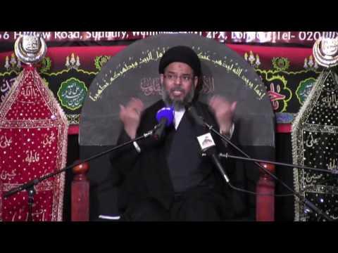 Majlis 8 | Ayatullah Sayed Aqeel Algharavi | Muharram 1438/2016
