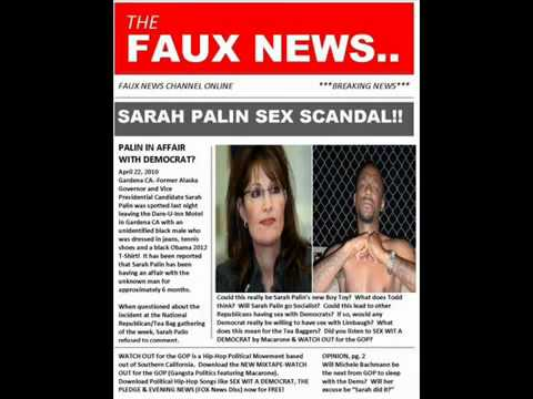 Sarah Palin Sex Scandal Rap- Sex Wit A Democrat (dear Sarah Palin) By Macarone video
