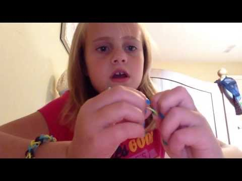How to make a rubber band ring without the Rainbow Loom