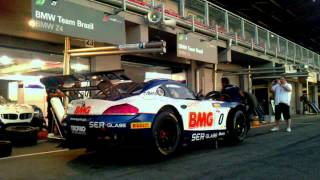 FIA GT Series PITT STOP TRAINING BMW TEAM BRAZIL Slovakia Ring 16 08 2013