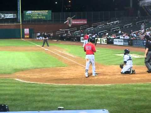 red sox prospect alex hassan batting - july 2011!