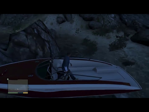 GTA 5 Game Play #07 Passeio de Lancha