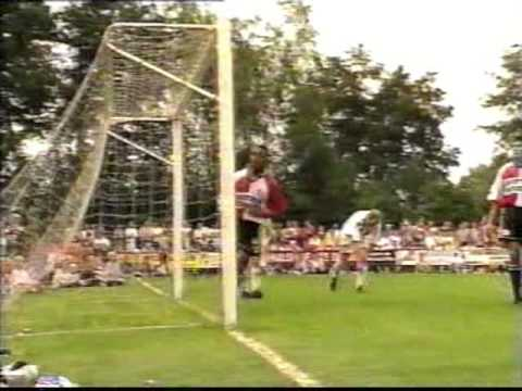 RKZVC FEYENOORD 20 JULI  1998 de  wedstrijd