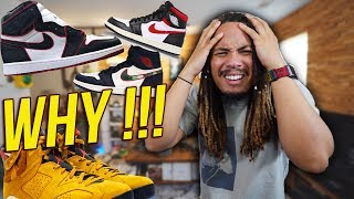 WHY IS JORDAN BRAND KILLING THE JORDAN 1 !!! YEEZY 350 V3 , AJ 11 BRED OG BOX , AJ 6 YELLOW CACTUS !