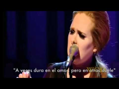 Adele - Someone like you - Español