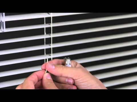 How to Restring a Mini Blind