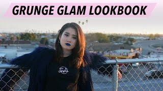 EFFORTLESS GRUNGE GLAM LOOKBOOK