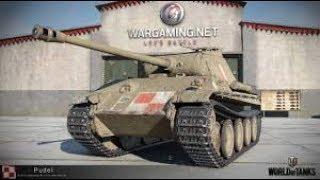 World of Tanks, Replay: Pudel, 5 destruídos, 2,7k de dano e 1,8k bloqueados