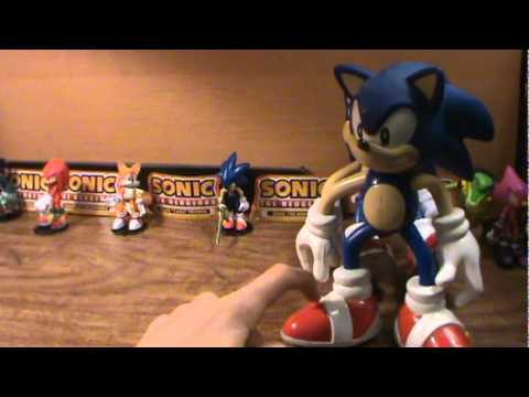 sonic actiion figures talking sonic talking tails