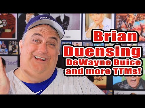 Brian Duensing, Kennys Vargas and more autographs!