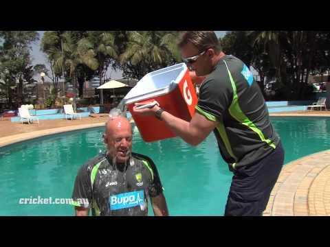 Darren Lehmann ice bucket challenge