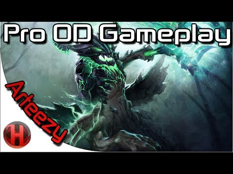 EG.Arteezy Outworld Devourer Gameplay Dota 2