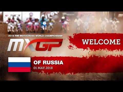 Welcome to MXGP of Russia 2018 #motocross